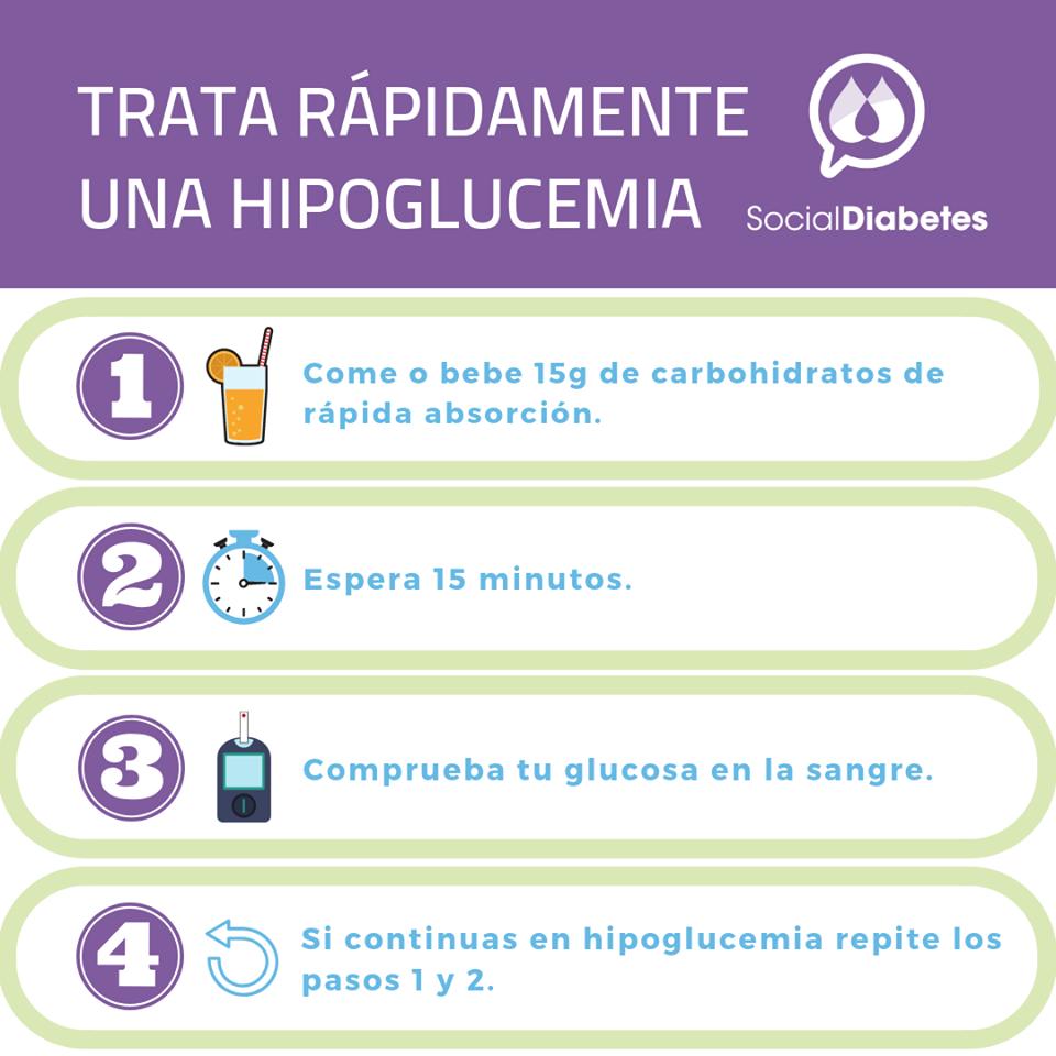 síntomas de diabetes hipoglucemia