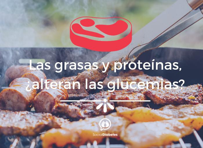 Efecto de las grasas y proteínas en la glucemia